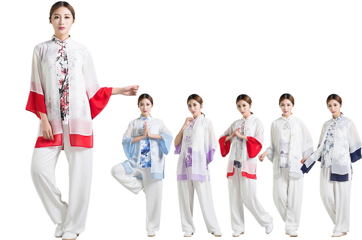 Tenue Taiji avec Voile, Daheng