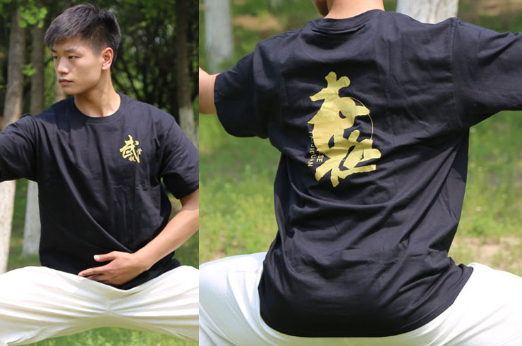 T-shirt Tai Chi 1, Wujitang