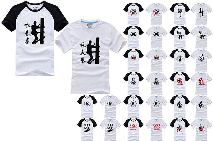 T-shirt Kungfu Taichi, Hongfang