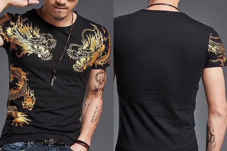 T-shirt Dragon sérigraphie 2