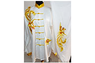 Tai Chi Uniform Embroidered Phoenix 1