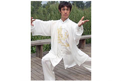 Tenue Tai Chi Brodée, Dragon 1