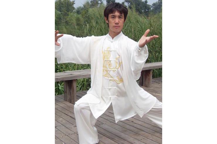 Tenue Tai Chi Brodée, Dragon 1