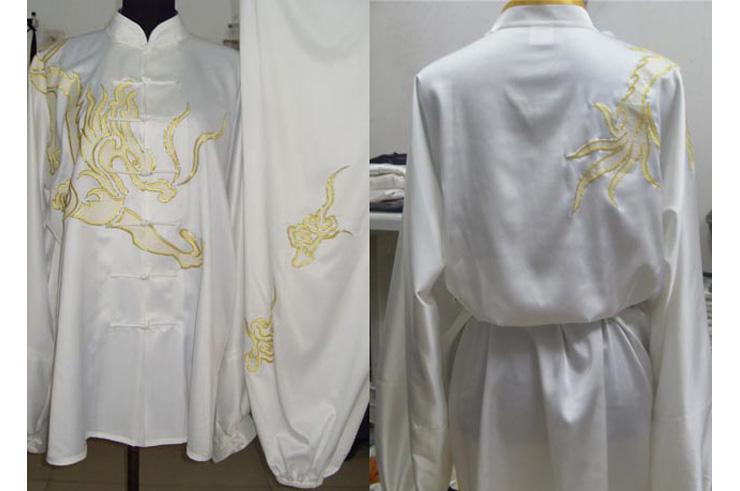 Tai Chi Uniform Embroidered Dragon 1
