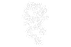 Tenue Tai Chi Brodée, Fleur 6