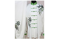 Tai Chi Uniform Embroidered Flower 15