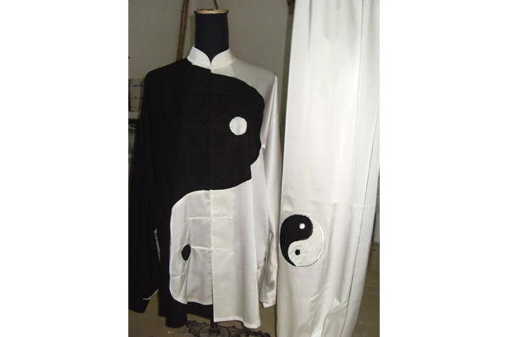 Tenue Tai Chi Brodée, Yin Yang 2