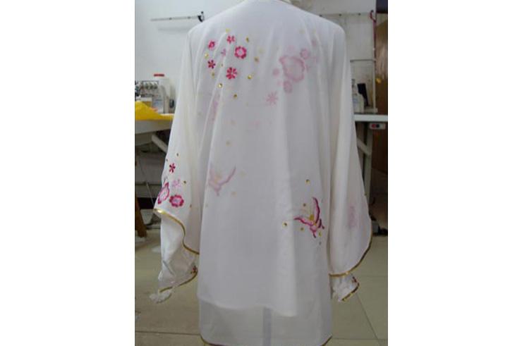 Voile Taiji Brodée Fleur 1