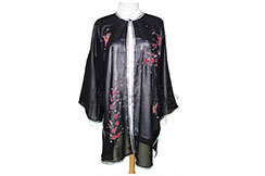 Tai Chi Cloak Embroidered Flower 3