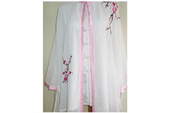 Tai Chi Cloak Embroidered Flower 6