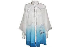 Tai Chi Cloak Embroidered Crane 1