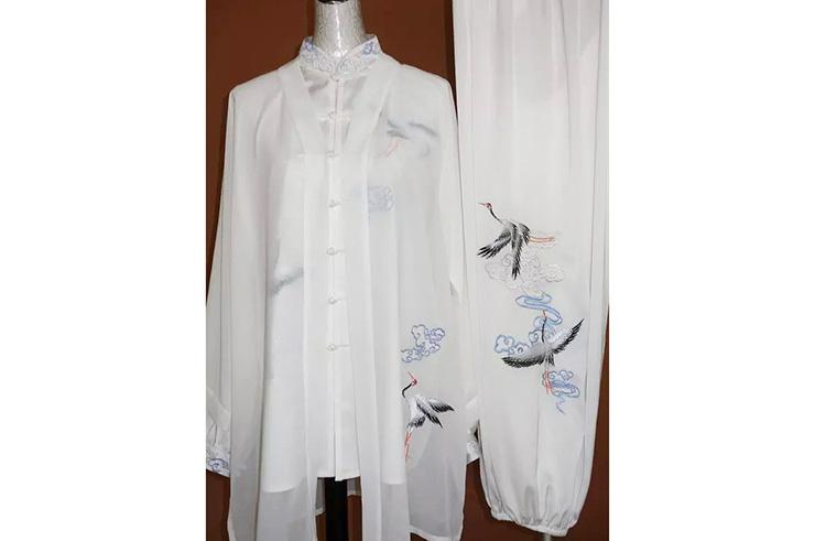 Tai Chi Cloak Embroidered Crane 2
