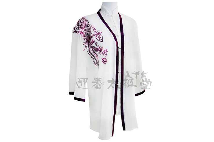 Tai Chi Cloak Embroidered Phoenix
