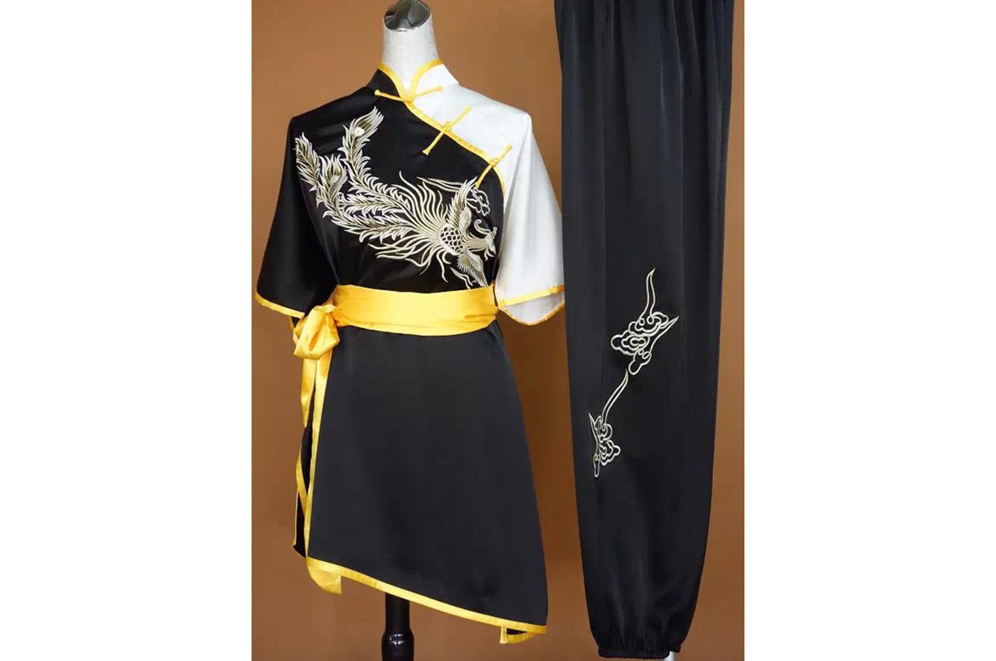 Tenue Chang Quan Brodée Phoenix 1