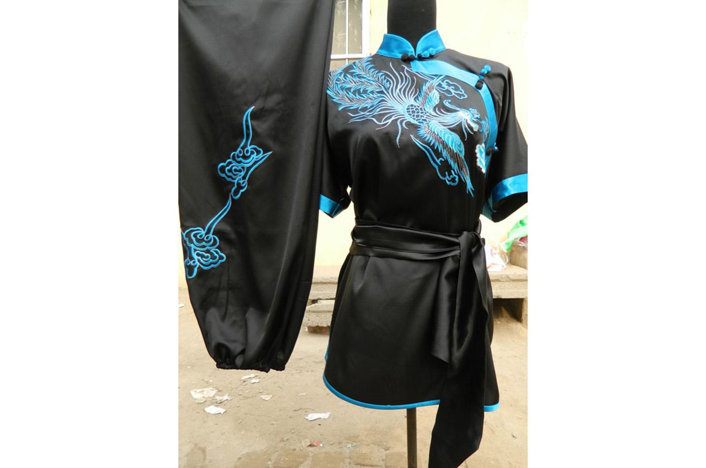 Tenue Chang Quan Brodée Phoenix 3