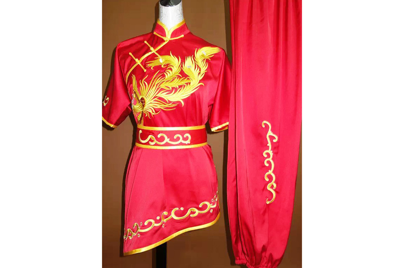Tenue Chang Quan Brodée Phoenix 4