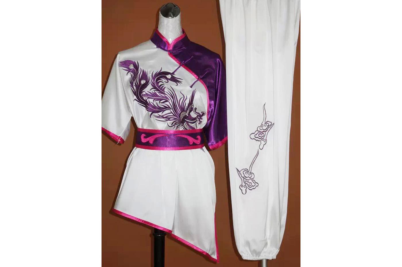 Tenue Chang Quan Brodée Phoenix 5