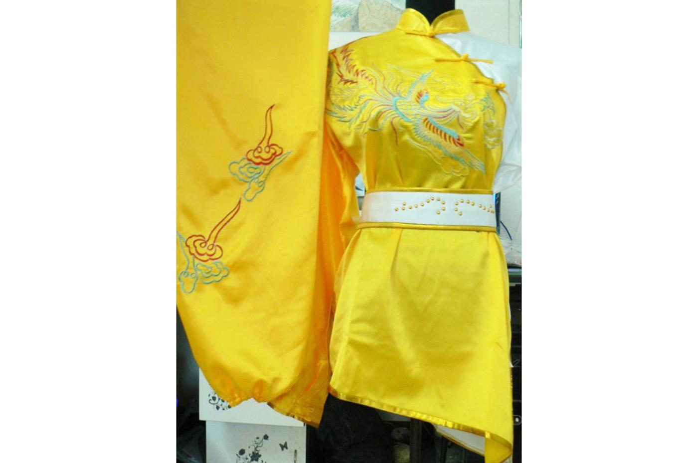 Tenue Chang Quan Brodée Phoenix 10