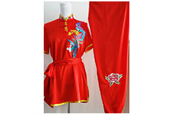 Tenue Chang Quan Brodée Phoenix 12