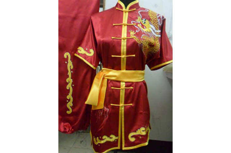 Tenue Chang Quan Brodée Dragon 3