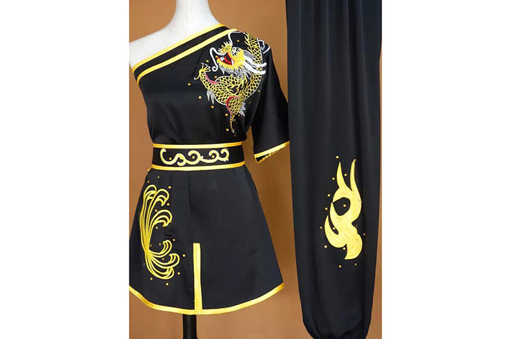 Traje Bordado, Chang Quan Dragón 7