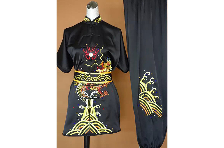 Tenue Chang Quan Brodée Dragon 8