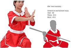 Top Personalizado, Chang Quan Mujer, Estilo Japonés