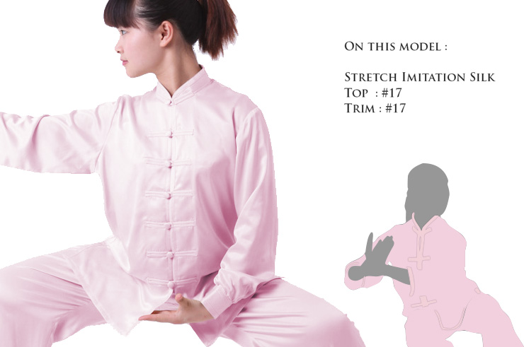 Custom Top, Taiji Chinese Style
