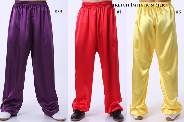 Custom Pants, Wushu & Taiji