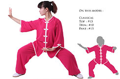 Tenue Personnalisée, Taiji style Occidental Erable