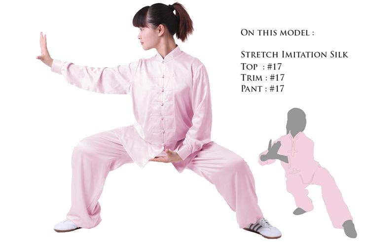 Tenue Personnalisée, Taiji style Chinois