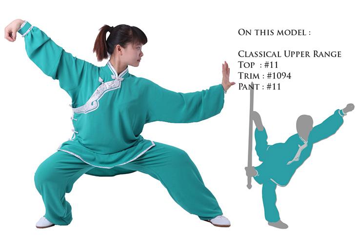 Custom Uniform, Taiji Da Jin, Maple