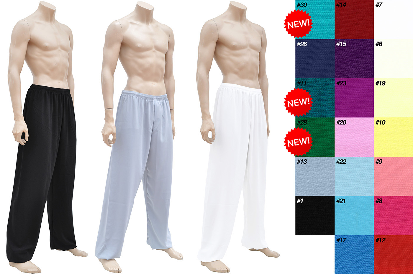 Pantalon, Personnalisé, tissu Classique
