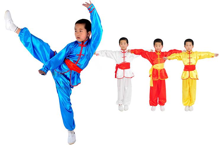Traje Taichi Niño Qi Lin Ge