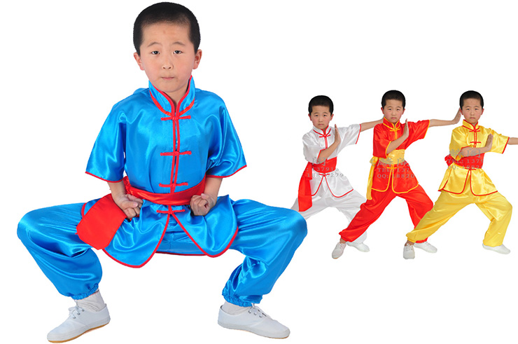 Traje Chang Quan Niño