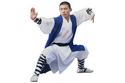 Traje Shaolin Tao Seng, Azul
