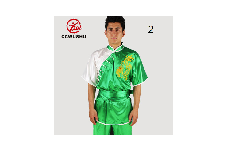 Tenue Chang Quan Dragon «CCWUSHU » 1