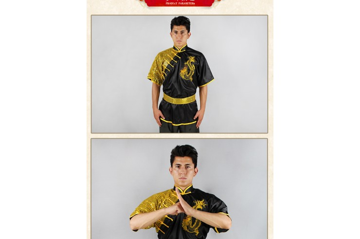 Tenue Chang Quan Dragon «CCWUSHU » 2