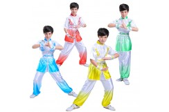 Chang Quan Uniform, Gradient Tones, Bicolor, Imitation soie