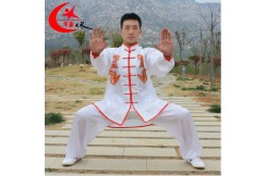 Taiji Uniform with Double Dragon «Hua Xin »