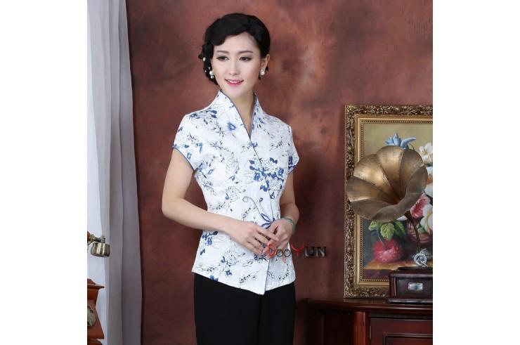 Haut Traditionnel «Tangzhuang» Femme, Dooyun