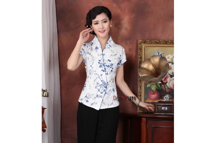 Top tradicional 'Tangzhuang' Mujer, Dooyun