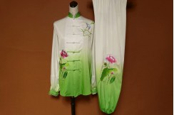 Tai Chi Uniform Embroidered Flower 3