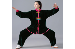 Jingyi Taiji Velour Uniform 1